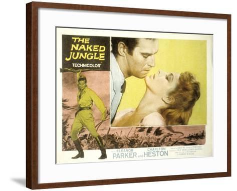 The Naked Jungle, Charlton Heston, Eleanor Parker, 1954--Framed Art Print
