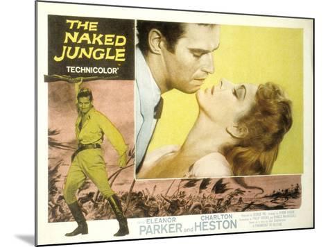 The Naked Jungle, Charlton Heston, Eleanor Parker, 1954--Mounted Photo