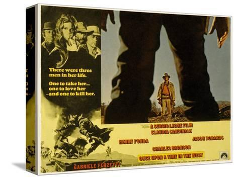 Once Upon a Time in the West, Charles Bronson, 1968--Stretched Canvas Print