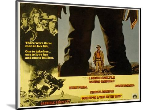 Once Upon a Time in the West, Charles Bronson, 1968--Mounted Photo