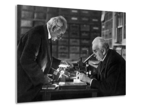 The Lumiere Brothers, Louis Jean Lumiere, Auguste Lumiere--Metal Print