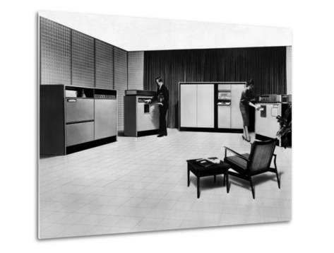 Computer, 1960--Metal Print