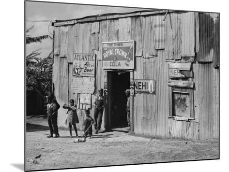 African American Juke Joint-Marion Post Wolcott-Mounted Photo