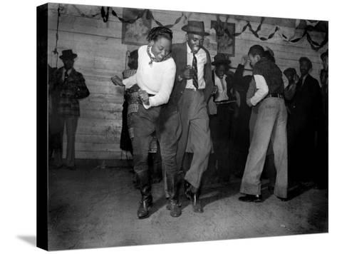 African American Juke Joint, Clarksdale, Mississippi, 1939--Stretched Canvas Print