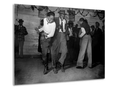 African American Juke Joint, Clarksdale, Mississippi, 1939--Metal Print