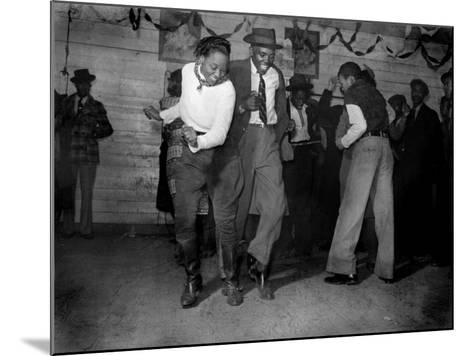 African American Juke Joint, Clarksdale, Mississippi, 1939--Mounted Photo