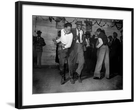 African American Juke Joint, Clarksdale, Mississippi, 1939--Framed Art Print