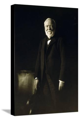 Andrew Carnegie, April 5, 1913--Stretched Canvas Print
