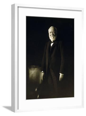 Andrew Carnegie, April 5, 1913--Framed Art Print