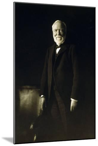 Andrew Carnegie, April 5, 1913--Mounted Photo