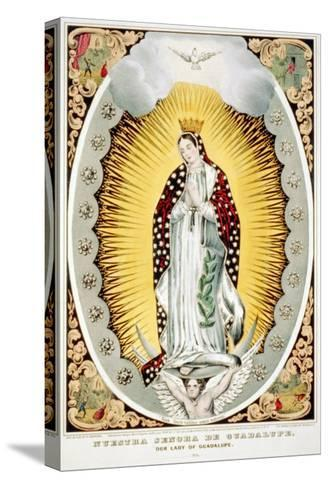 Our Lady of Guadalupe, 1848--Stretched Canvas Print