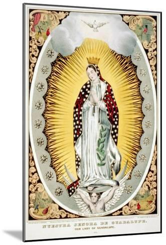 Our Lady of Guadalupe, 1848--Mounted Photo
