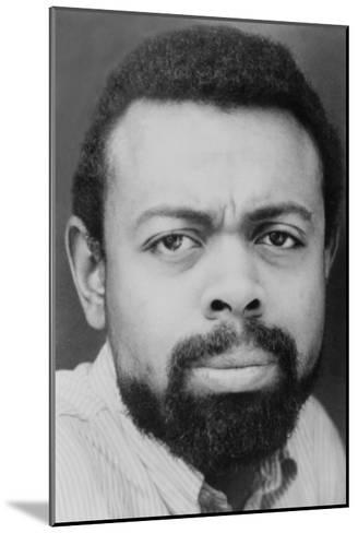 Amiri Baraka African American Poet and Playwright Adopted Black Nationalism in the 1960s--Mounted Photo