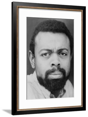Amiri Baraka African American Poet and Playwright Adopted Black Nationalism in the 1960s--Framed Art Print