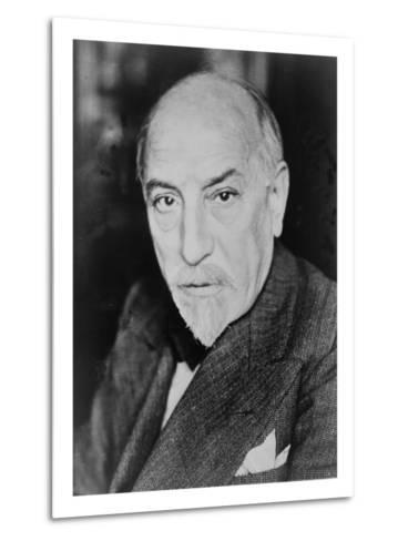 Luigi Pirandello Italian Playwright and Novelist, Won the 1934 Nobel Prize for Literature. 1934--Metal Print