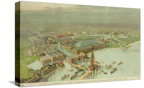 Birdseye View. World's Columbian Exposition, Chicago, 1893--Stretched Canvas Print