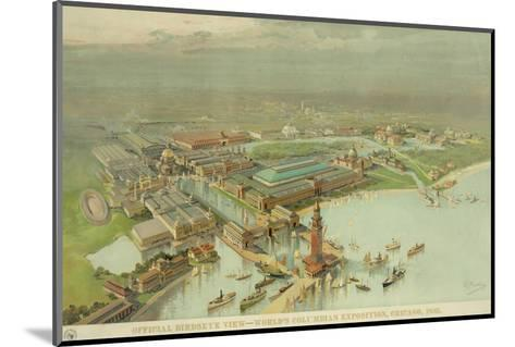 Birdseye View. World's Columbian Exposition, Chicago, 1893--Mounted Photo