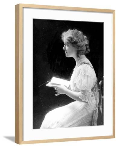 American Stage Actress and Director Antoinette Perry, 1910--Framed Art Print