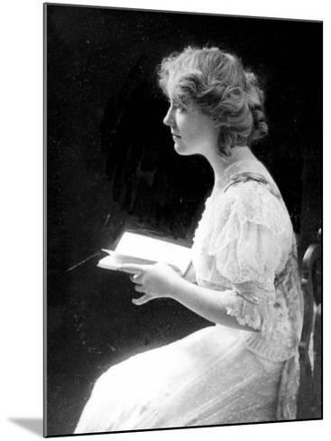 American Stage Actress and Director Antoinette Perry, 1910--Mounted Photo