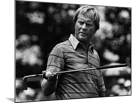 Golf Pro Jack Nicklaus, August, 1984--Mounted Photo
