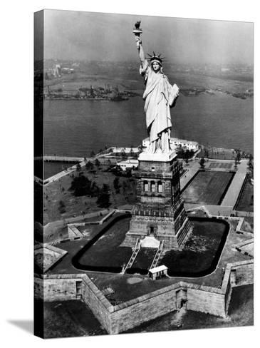 The Statue of Liberty, New York City, 1955--Stretched Canvas Print