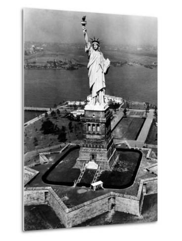 The Statue of Liberty, New York City, 1955--Metal Print
