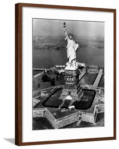 The Statue of Liberty, New York City, 1955--Framed Art Print