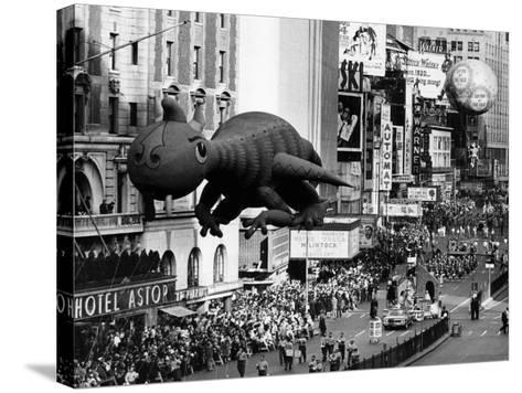 The Macy's Thanksgiving Day Parade, Times Square, New York City, November 28, 1963--Stretched Canvas Print