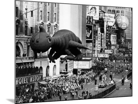The Macy's Thanksgiving Day Parade, Times Square, New York City, November 28, 1963--Mounted Photo