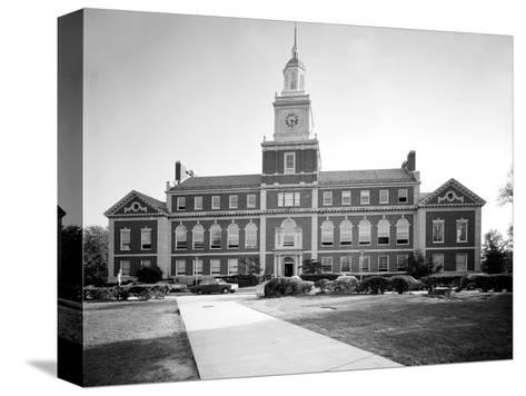 Howard University, Founders Library, Washington DC, 1970s--Stretched Canvas Print