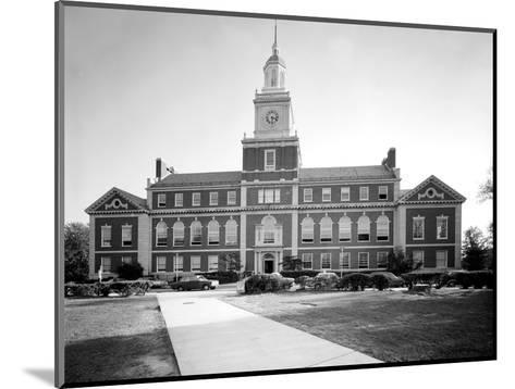 Howard University, Founders Library, Washington DC, 1970s--Mounted Photo