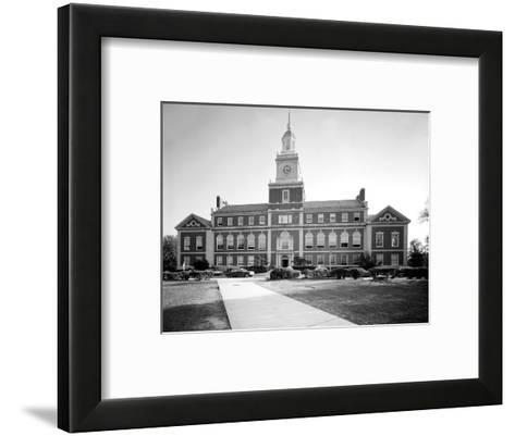 Howard University, Founders Library, Washington DC, 1970s--Framed Art Print