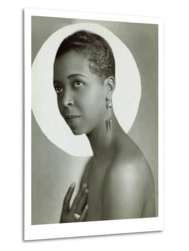 Ethel Waters in a 1935 Publicity Photo for Lew Leslie's 'Rhapsody in Black--Metal Print