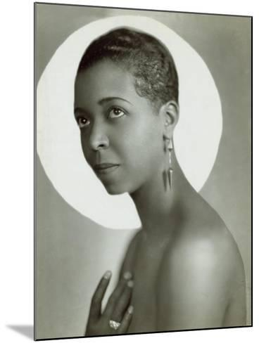 Ethel Waters in a 1935 Publicity Photo for Lew Leslie's 'Rhapsody in Black--Mounted Photo