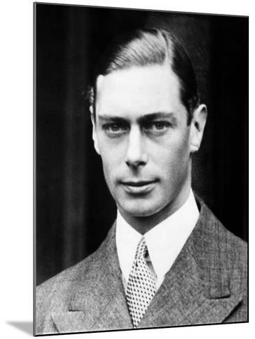 King George VI of England, 1936--Mounted Photo