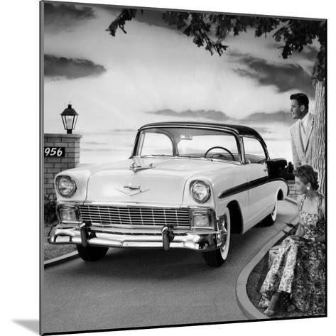 1956 Chevrolet Bel Air Sport Coupe--Mounted Photo