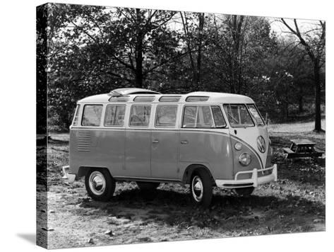 1963 Volkswagen Bus--Stretched Canvas Print