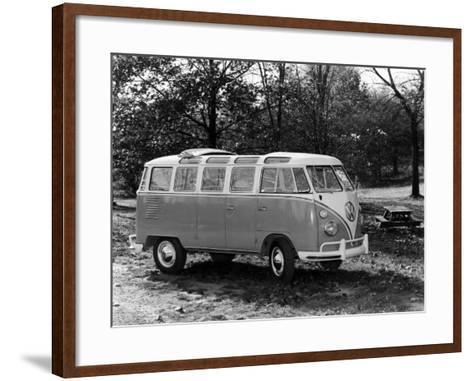 1963 Volkswagen Bus--Framed Art Print
