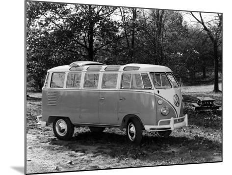 1963 Volkswagen Bus--Mounted Photo