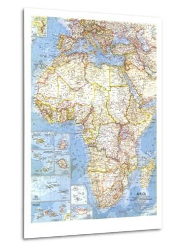 1960 africa map art print by national geographic maps art 1960 africa map national geographic maps metal print gumiabroncs Image collections
