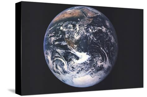 1973 Earth From Space-National Geographic Maps-Stretched Canvas Print