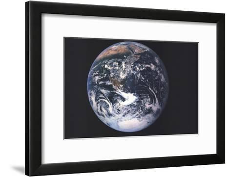 1973 Earth From Space-National Geographic Maps-Framed Art Print