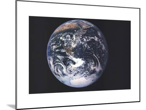 1973 Earth From Space-National Geographic Maps-Mounted Art Print
