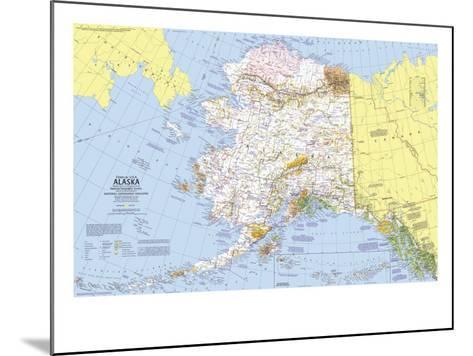 1975 Close-up USA, Alaska Map-National Geographic Maps-Mounted Art Print