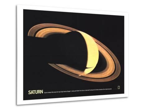 1981 Saturn-National Geographic Maps-Metal Print