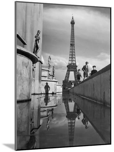 The Eiffel Tower was completed in 1889 for the World's Fair-Maynard Owen Williams-Mounted Photographic Print