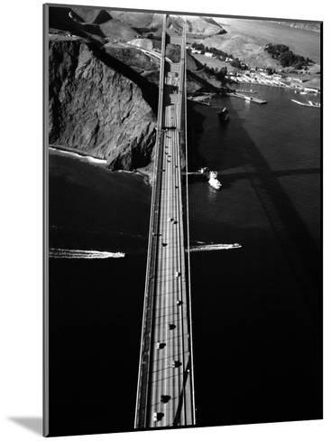 Aerial View of the Golden Gate Bridge-Margaret Bourke-White-Mounted Photographic Print