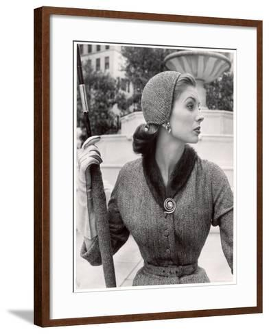 Women's Tweed Fashions-Nina Leen-Framed Art Print