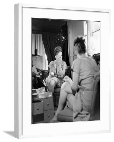 Gypsy Rose Lee, Burlesque Dnacer, Carnival Queen-George Skadding-Framed Art Print