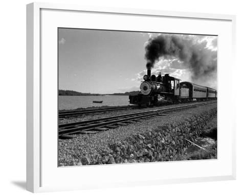 Hawaiian Essay, Train-William C^ Shrout-Framed Art Print
